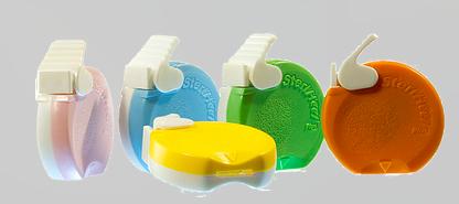Lancetas de incisión capilar de diferentes profundidades de incisión en varios colores